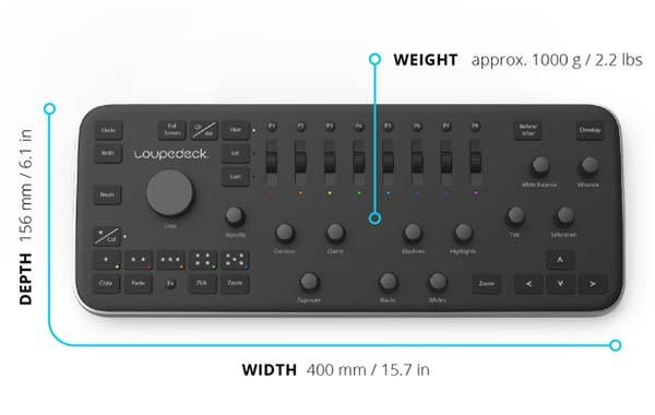 Loupedeck Professional Photo Editing Console For Lightroom