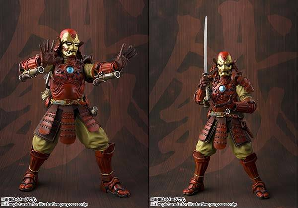 Samurai Iron Man Action Figure
