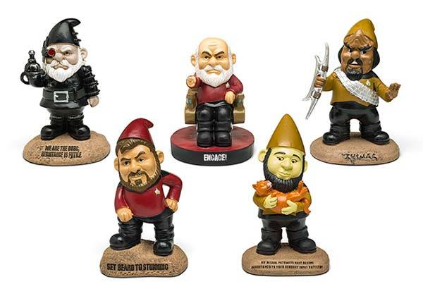 More Star Trek TNG Garden Gnomes