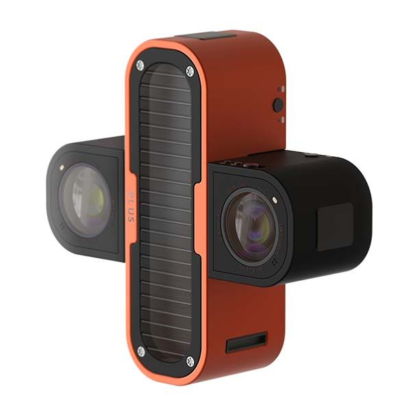 PLUS 3D Action Camera with LED Lights