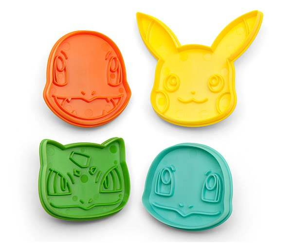 Pokemon Cookie Cutter Set