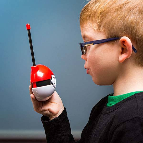 Pokemon Pokeball Walkie Talkies