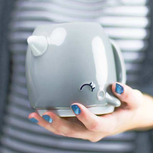 Pretty Cute Nari The Narwhal Coffee Mug