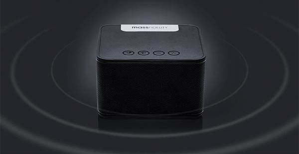 raD Water-Resistant Portable Bluetooth Speaker