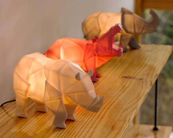 Safari Creature LED Lamp
