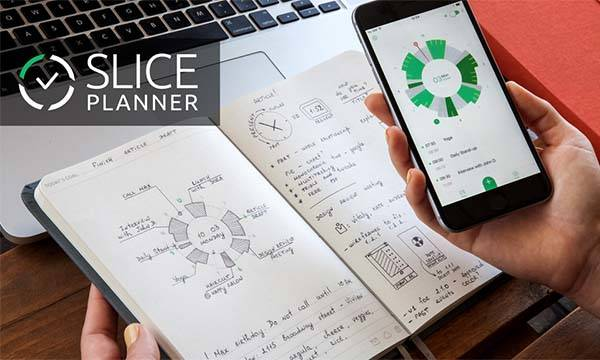 Slice Planner App-Enabled Notebook Powered by Augmented Reality