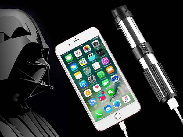 Star Wars Darth Vader Lightsaber Power Bank