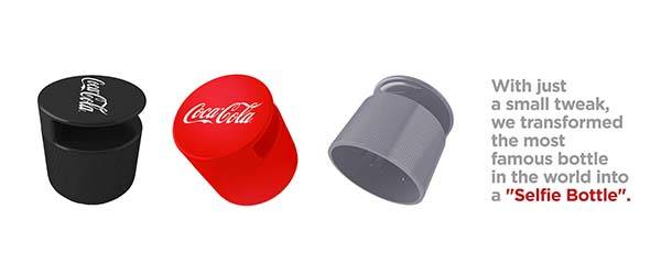 The Cap Turns Coca Cola Bottle Into Selfie Bottle Gadgetsin