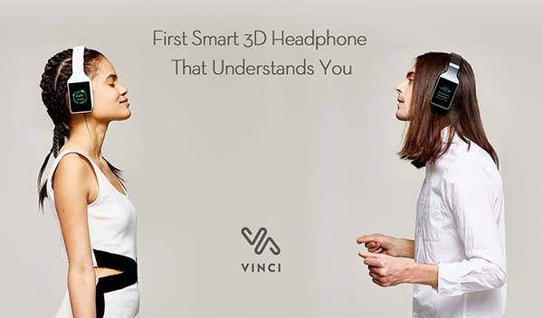 Vinci 3D Smart Wireless Headphones