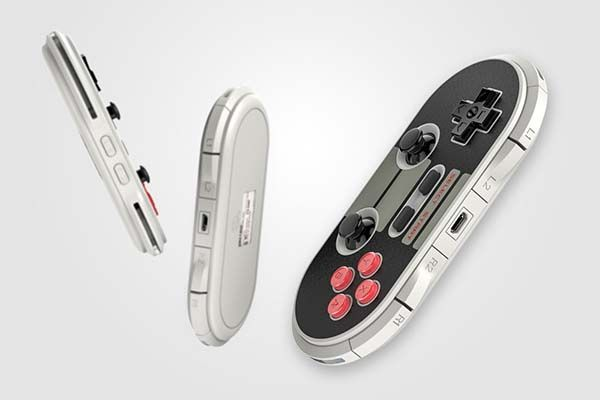 8Bitdo Crissaegrim NES30 Pro Portable Wireless Game Controller