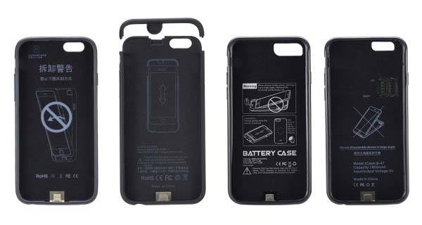 Airphone iPhone 7 Battery Case Supports Dual SIM and Dual Standby