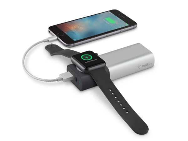 Belkin Valet Charger Power Bank with Apple Watch Charger