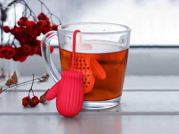 Cozy Cup Mittens Tea Infuser
