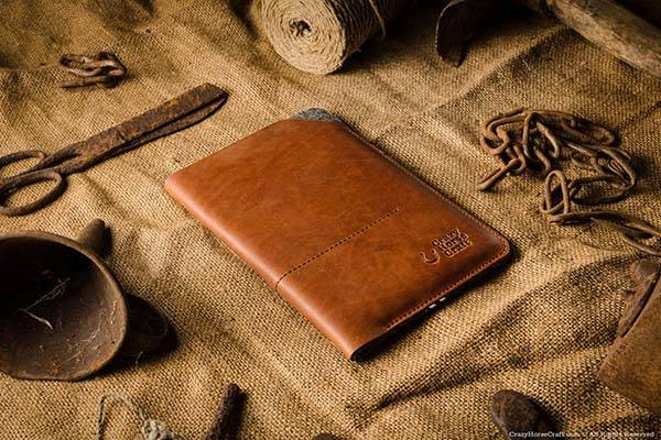 CrazyHorseCraft Handmade Leather iPad Pro Case
