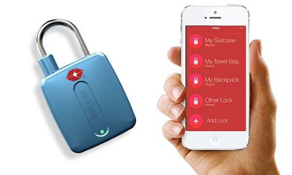 LockSmart Travel Bluetooth Smart Padlock