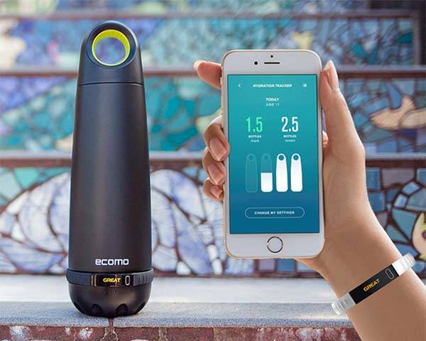 Ecomo Smart Water Bottle