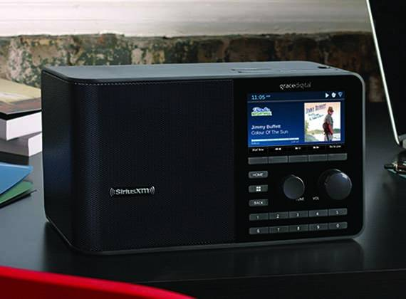 Grace Digital SiriusXM Sound Station Internet Radio