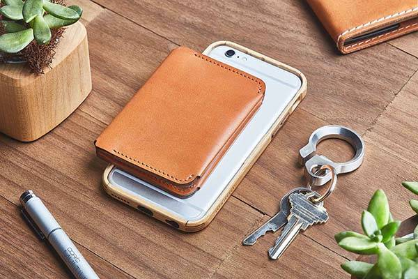 Grovemade Compact Bifold Leather Wallet