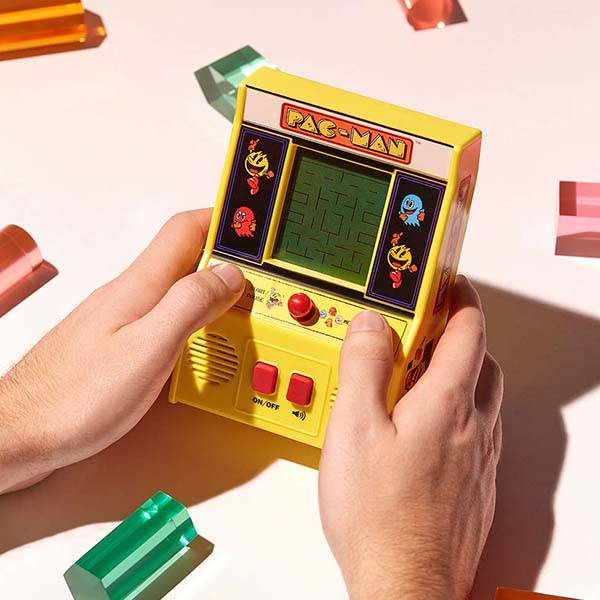 Handheld Pac-Man Arcade Machine