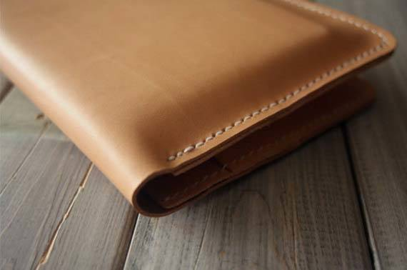 Handmade iPad Pro Leather Case with Extra Pockets