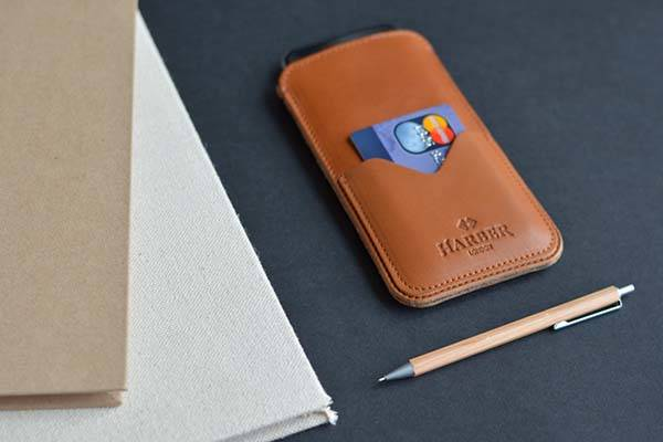 HarberLondon Handmade Slim iPhone 77 Plus Leather Case