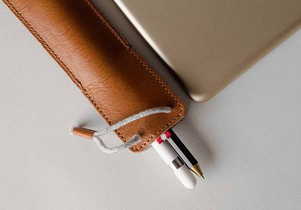 Hard Graft Classic Apple Pencil Leather Case