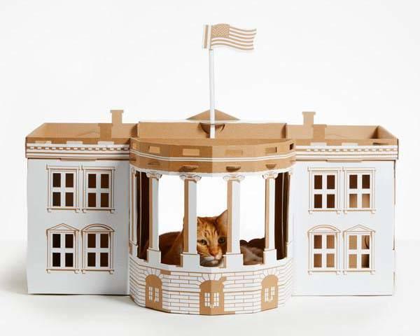 Landmark Cardboard Pet Houses