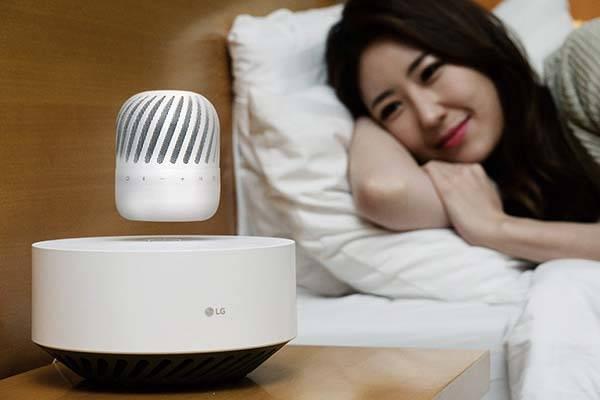 LG PJ9 Levitating Bluetooth Speaker