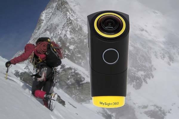 MySight360 Wearable VR Camera