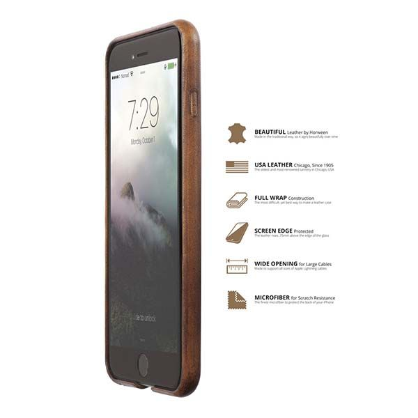 NOMAD Horween Leather iPhone 7 Case