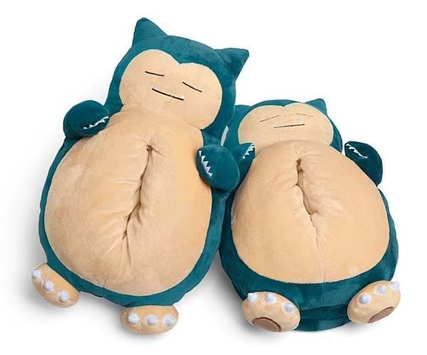 Pokemon Snoring Snorlax Slippers Gadgetsin