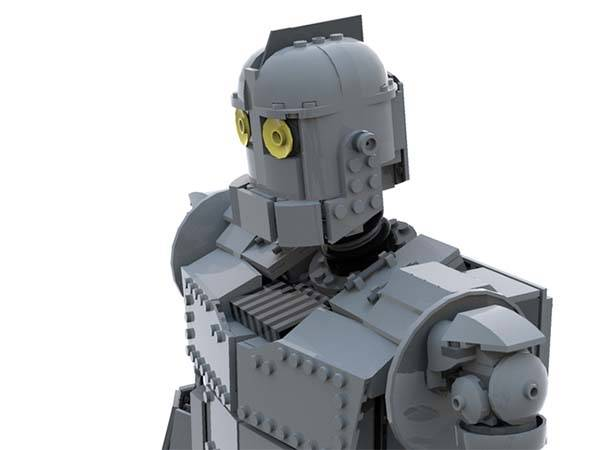 The Iron Giant LEGO Set