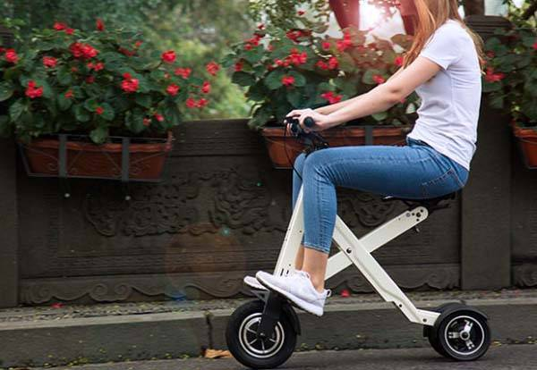 Xcape App-Enabled Foldable Electric Scooter