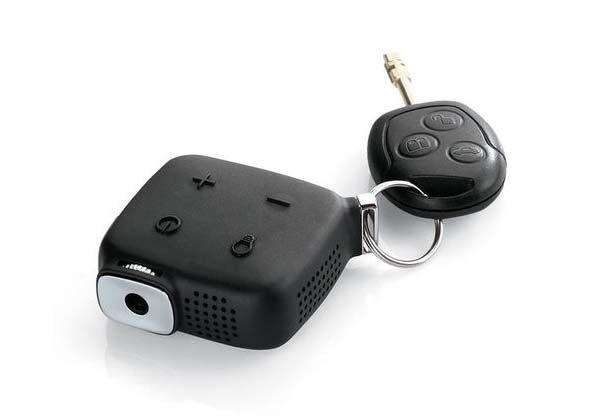 Brookstone Ultra Compact Keychain Projector