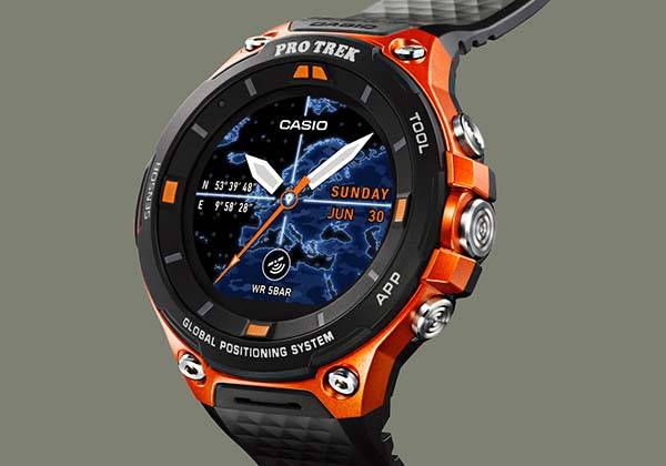 Casio WSD-F20 Outdoor GPS Smartwatch