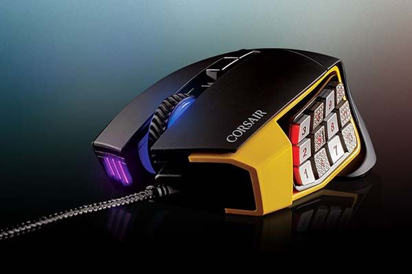 Corsair Scimitar Pro RGB MOBA/MMO Gaming Mouse