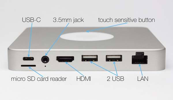 DoBox Aluminum Docking Station with Wireless Storage, Power Bank and WiFi Router
