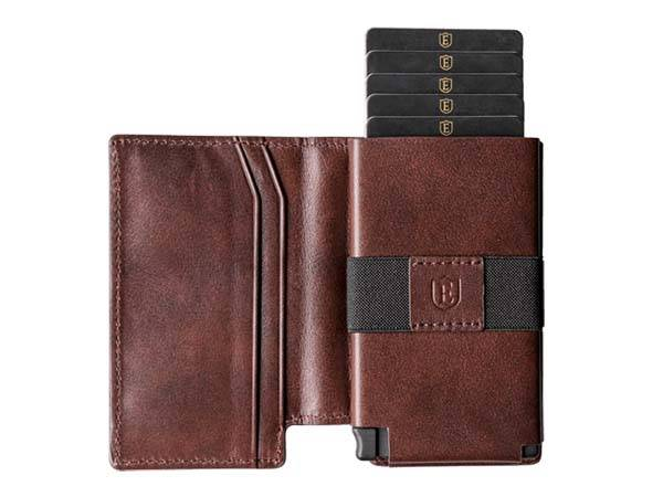 Ekster 2.0 Leather Slim Wallets with Bluetooth Tracker