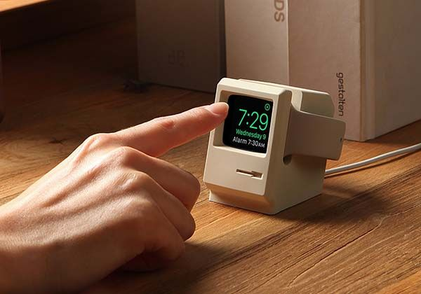 Elago W3 Macintosh 128K Shaped Apple Watch Stand
