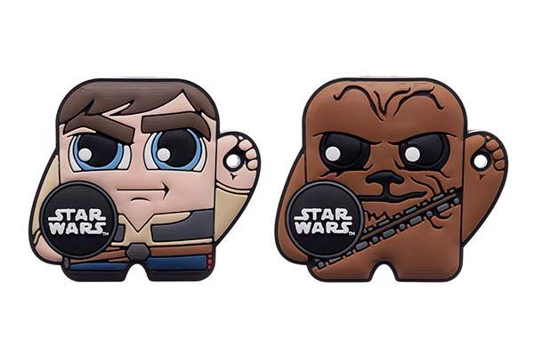 Star Wars Character Bluetooth Trackers