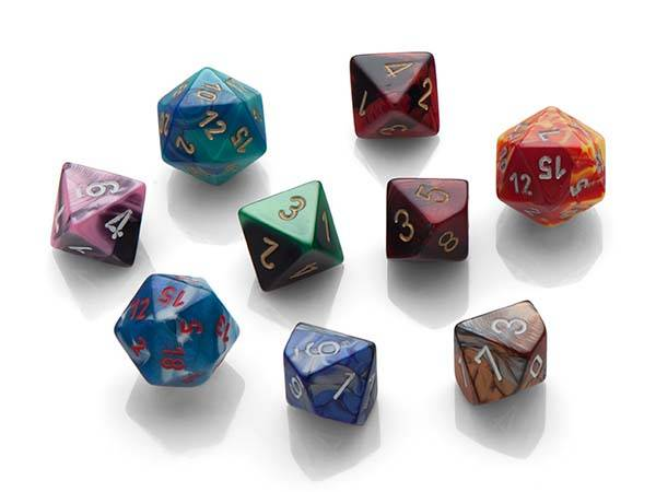 Gaming Dice Soap Set with Real Dice