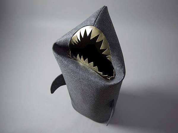 Handmade Baby Shark Kids Toy Storage Bin