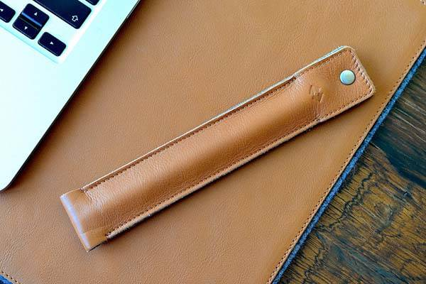 Handmade Apple Pencil Leather Case