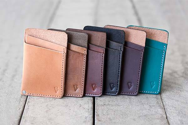 Handmade Slim Leather Wallet