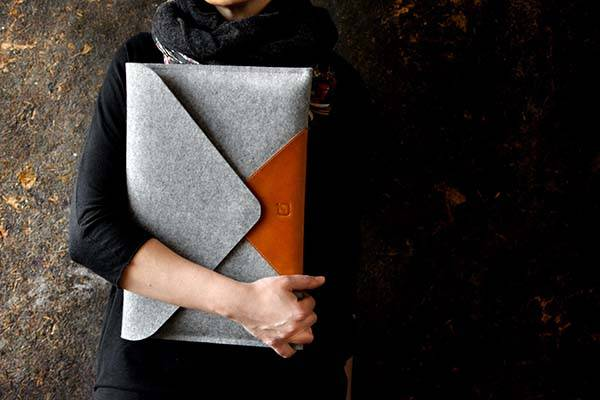Handmade Wool Felt MacBook Pro Case