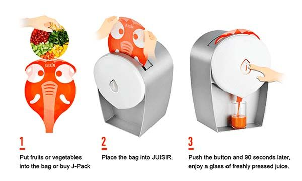 JUISIR Cold Press Juicer