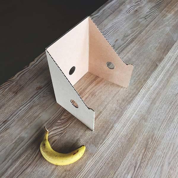 Lapaloft Handmade Portable Cardboard Laptop Stand