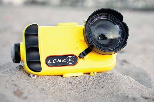 LenzO Waterproof iPhone 7/7 Plus Case for Awesome Underwater Photography