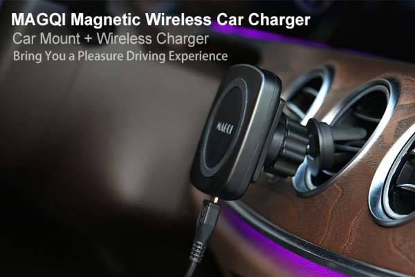 MAGQI Magnetic Wireless Charger and Power Bank