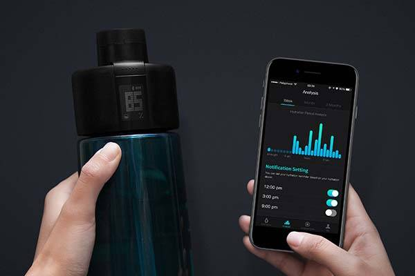 Moikit Gene Smart Sports Water Bottle